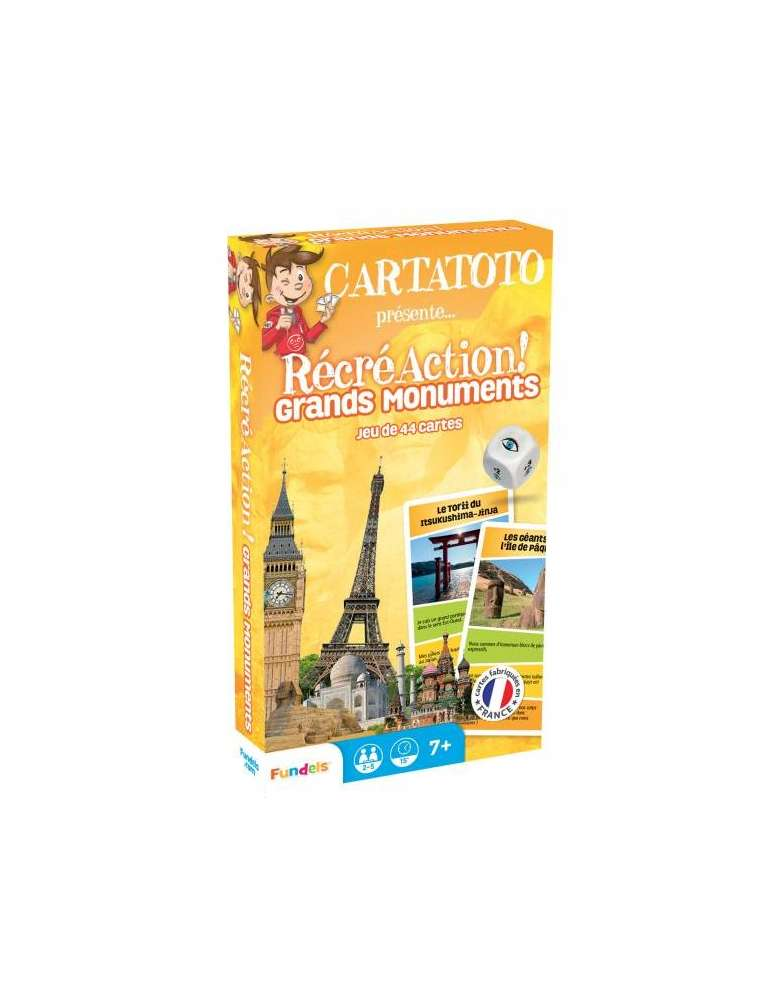 Cartatoto RécréAction Grands Monuments - Apprendre en S'Amusant