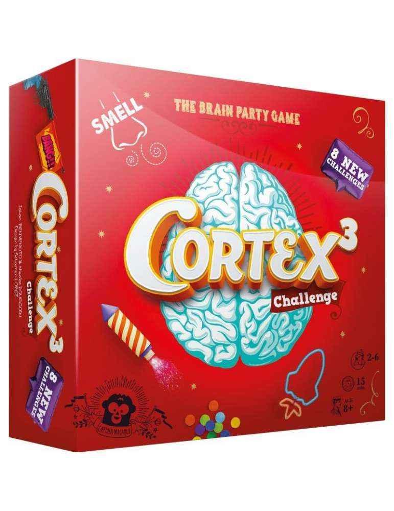 Cortex Challenge 3 ML - Captain Macaque - Asmodée