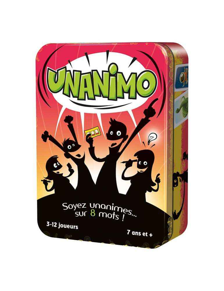 Unanimo - Dida Cool - Jeu Familiale - Jeu de Société Éducatif