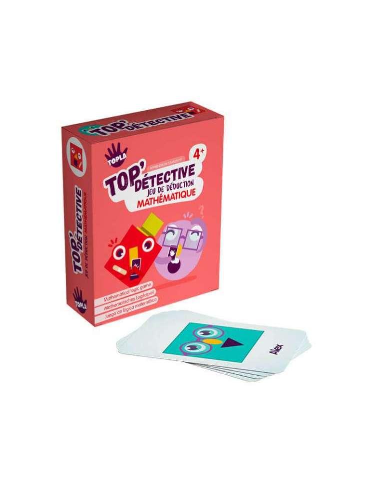 Top'Family : Jeu de 7 Déduction Mathématique - TOPLA - Apprendre en S'Amusant boite et cartes