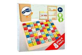 Boite Sudoku en Bois Small Foot Jeu Éducatif