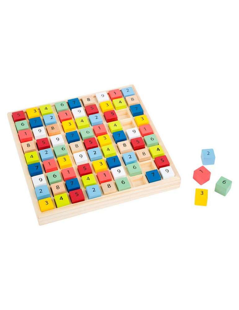 Sudoku en Bois Small Foot Jeu Éducatif