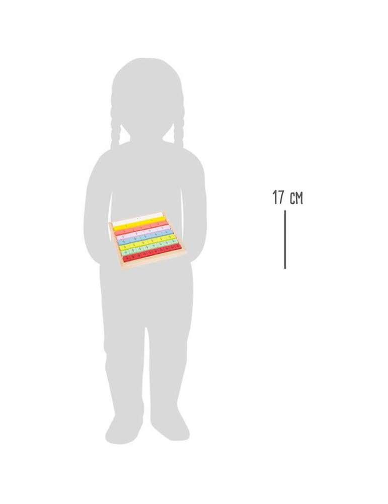 taille Jeu de Fraction Éducatif Bois FCS Small Foot