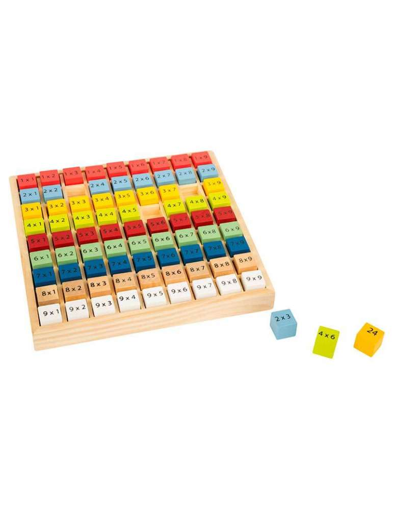 Table de Multiplication Éducatif Bois Small Foot