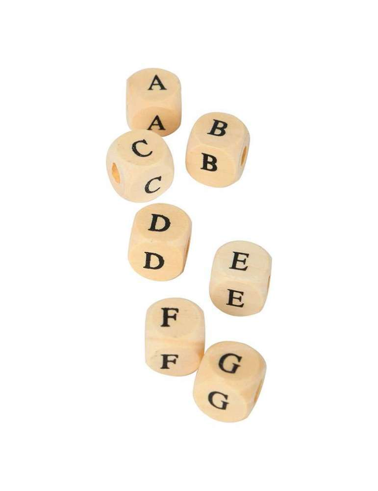 Perles Alphabet en Bois - Small Foot