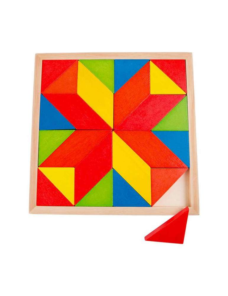 Puzzle Mosaique Étoile Montessori - Small Foot