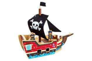 Kit de Construction Bateau de Pirate en Bois - Small Foot