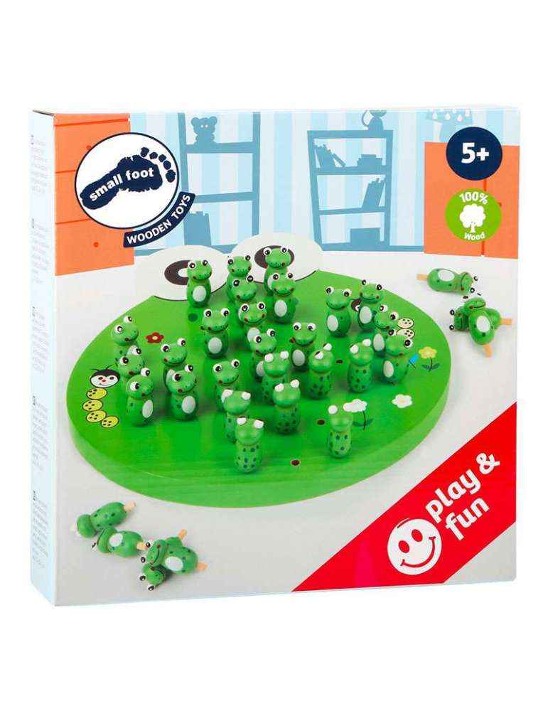 boite Solitaire Grenouille - Casse Tête - Small Foot