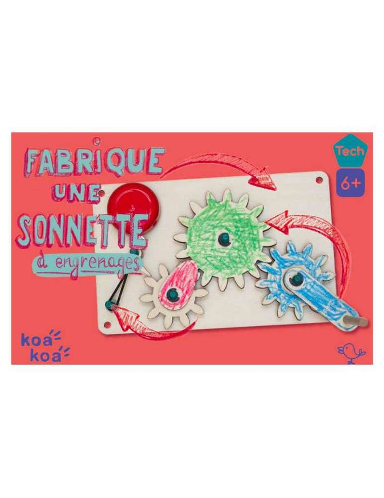 boite Sonnette à Engrenages à Fabriquer - DIY Maker - Koa Koa