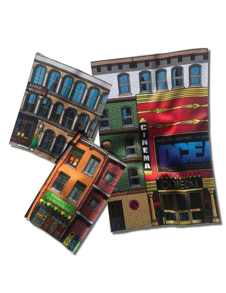 exemples 2 Kit Immeubles DLand Jeu Éco-Solidaire