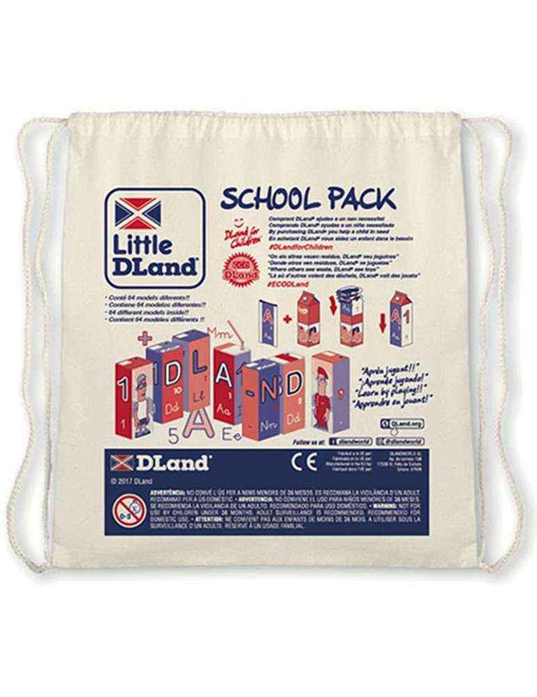Sac Transport School Pack DLand Jeu Éco-Solidaire Éducatif