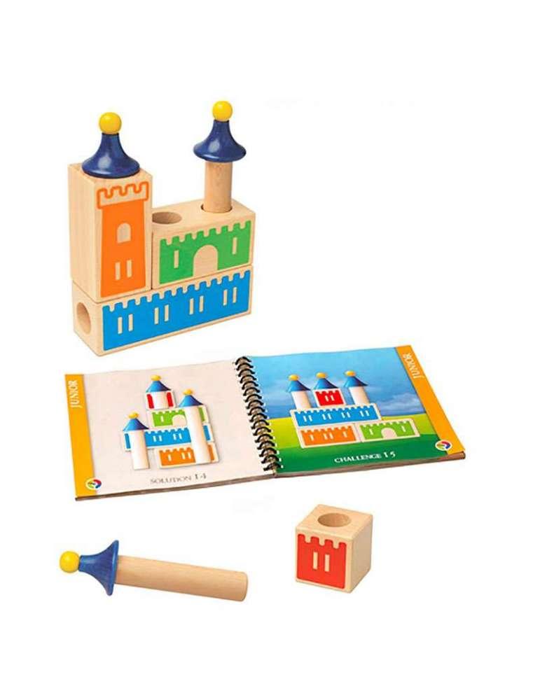Contenu Château Logique - Casse-tête Éducatif Logique - SMART Games