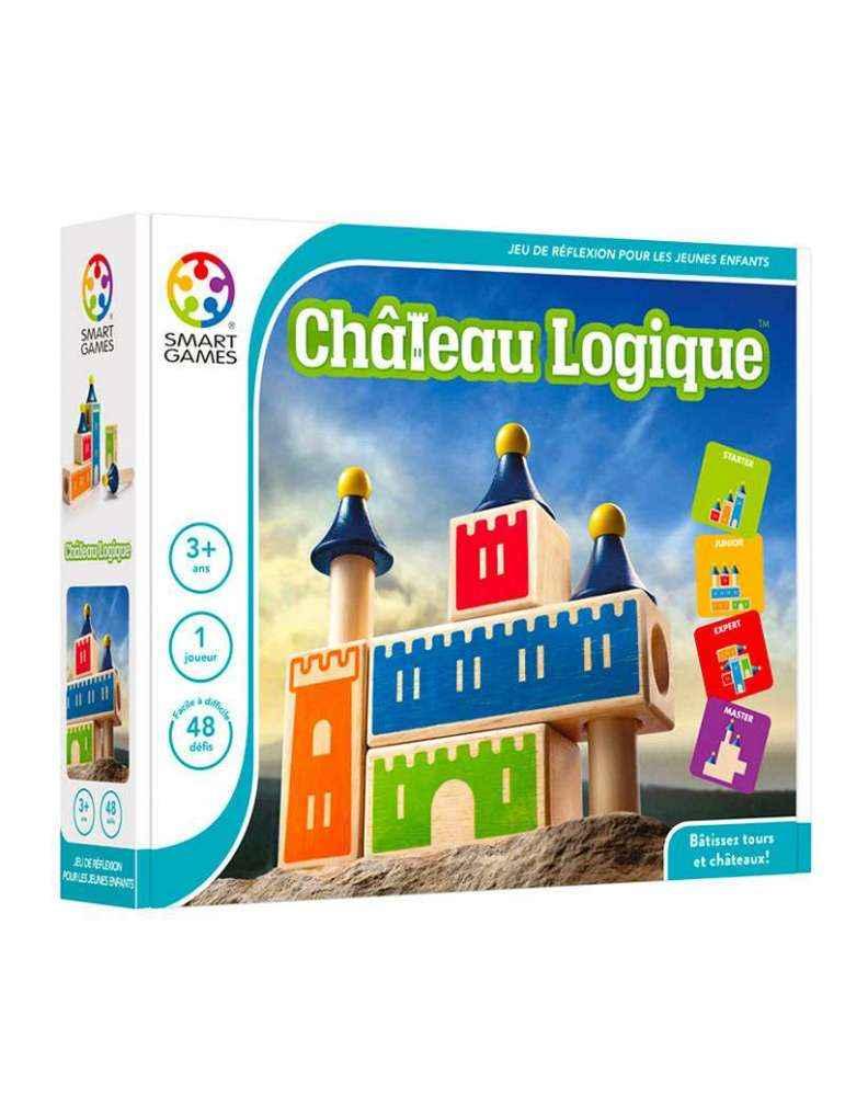 Boite Château Logique - Casse-tête Éducatif Logique - SMART Games