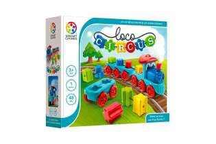 Boite Loco Circus - Casse-tête Éducatif Logique - SMART Games