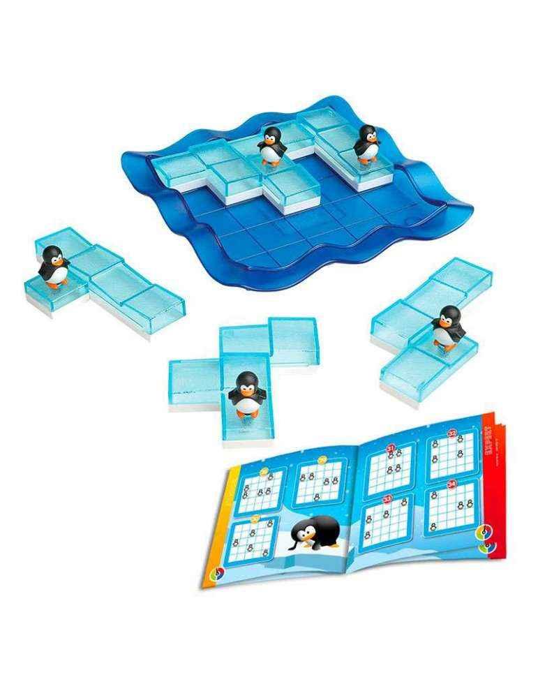 pièces du jeu Les Pingouins Patineurs - Remue Méninges - SMART Games