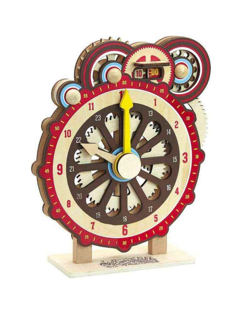 Horloge d'apprentissage Machinalirleur - Vilac