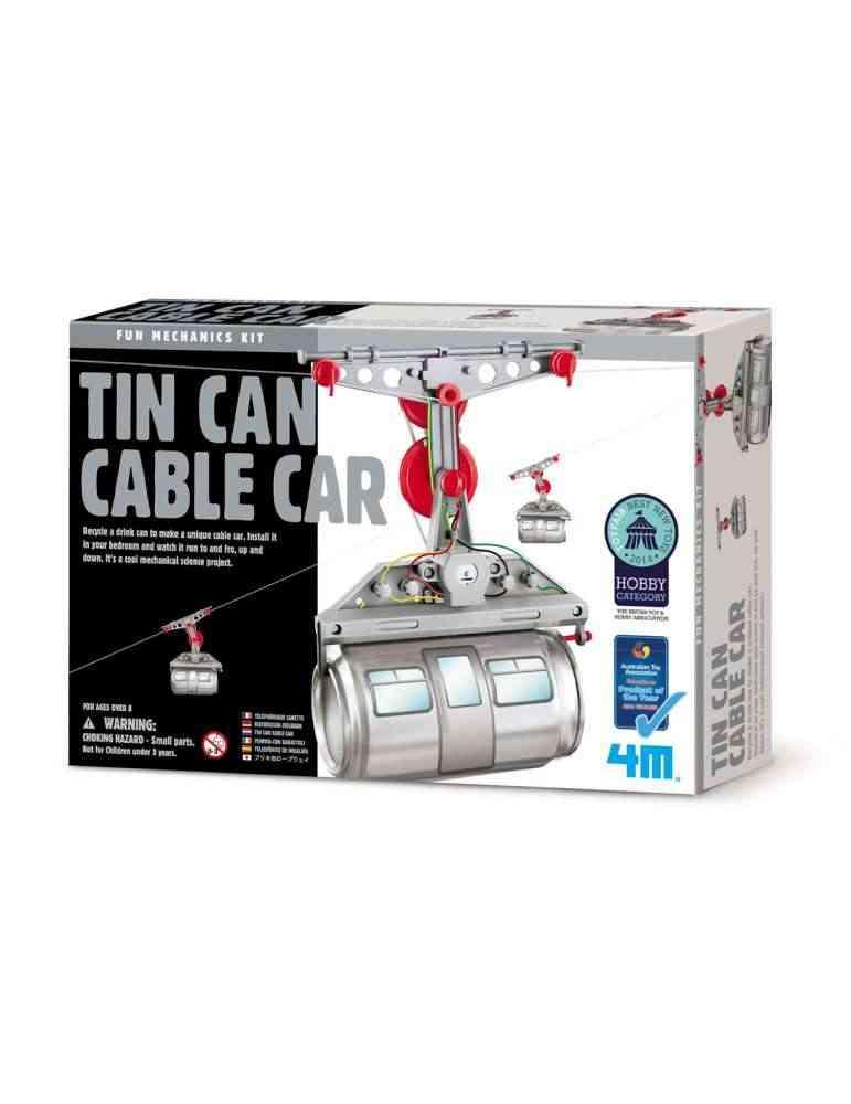 Télécabine Cannette - 4M - Kidzlabs - Jouet Scientifique