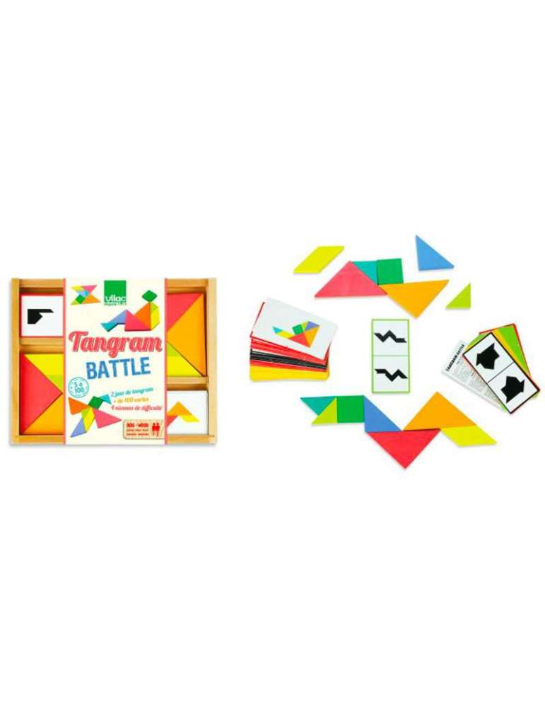 Tangram Battle - Remue Méninges - Vilac