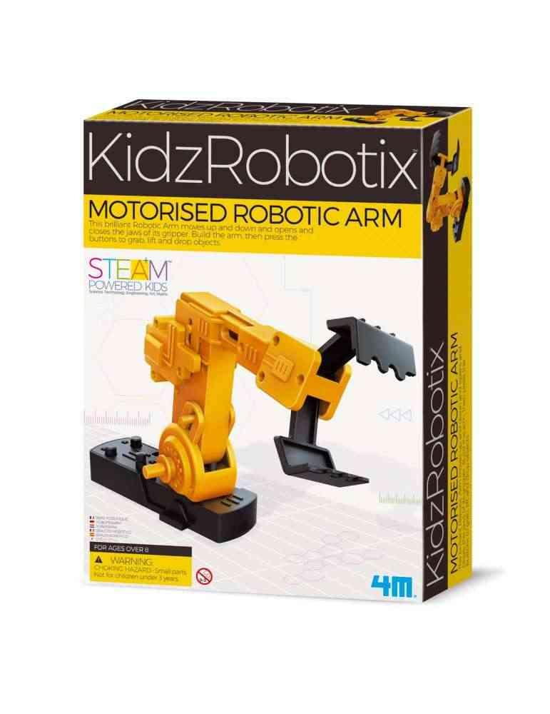 Bras Robotique Motorisé - 4M - KidzRobotix