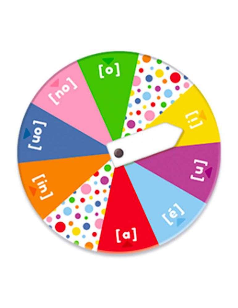 La roue des sons - jeu éducatif - Nathan
