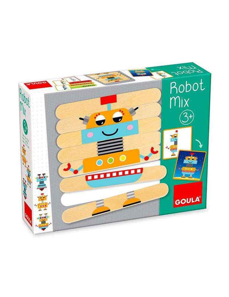 Boite Robot MIX - Jeu de Logique - Goula