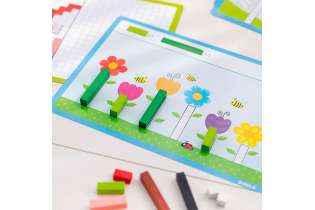 jeu Activité avec réglettes Cuisenaire - Montessori - Goula