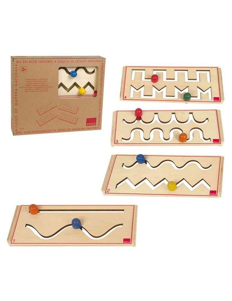 Set de pré-écriture Montessori en bois - Goula
