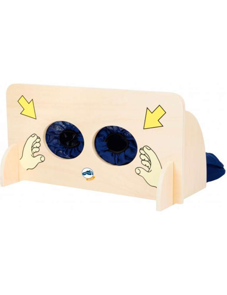 Mur sensoriel tactile - Montessori