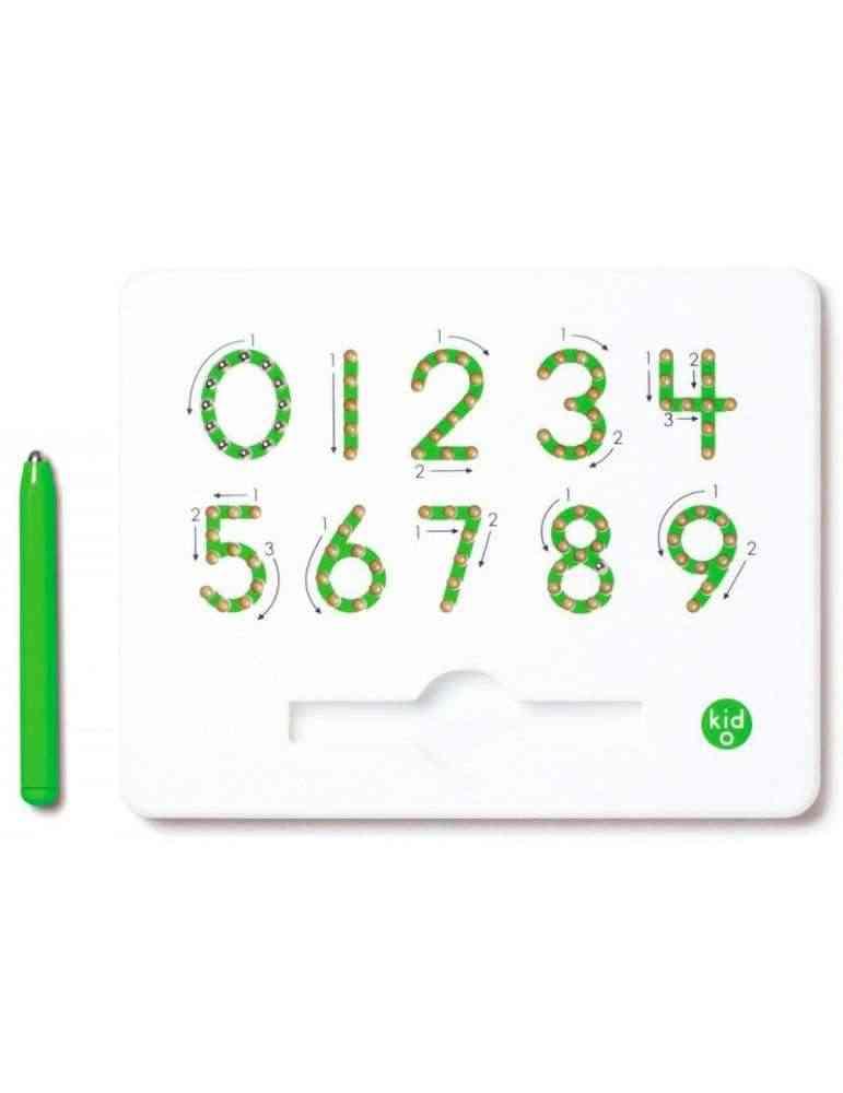 Magnatab chiffres - kid O - Jeu éducatif Montessori