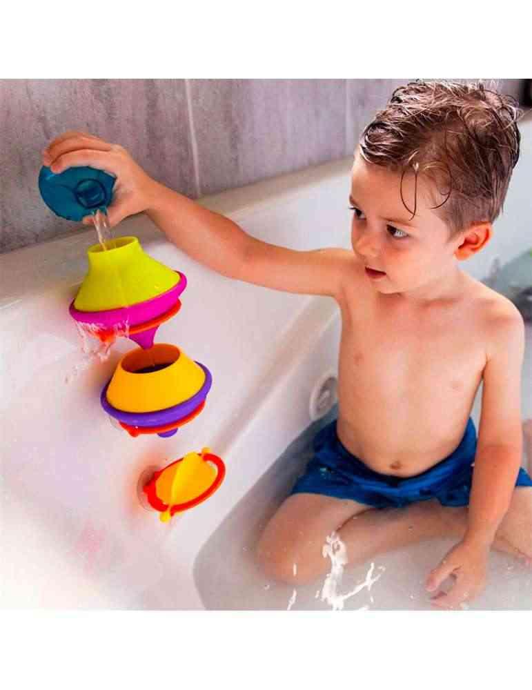 DripDrip et enfant - Fat Brain Toys - Jeu d'éveil - jouet de bain