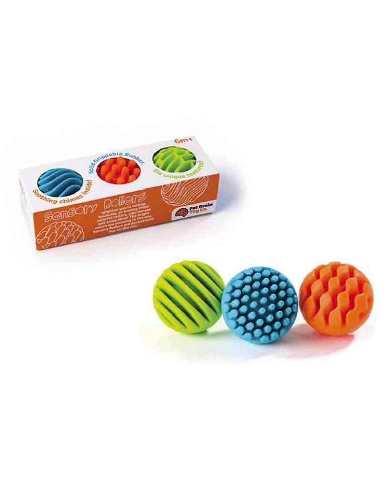 boite et Balles Sensorielles - Fat Brain Toys - Jeu d'éveil