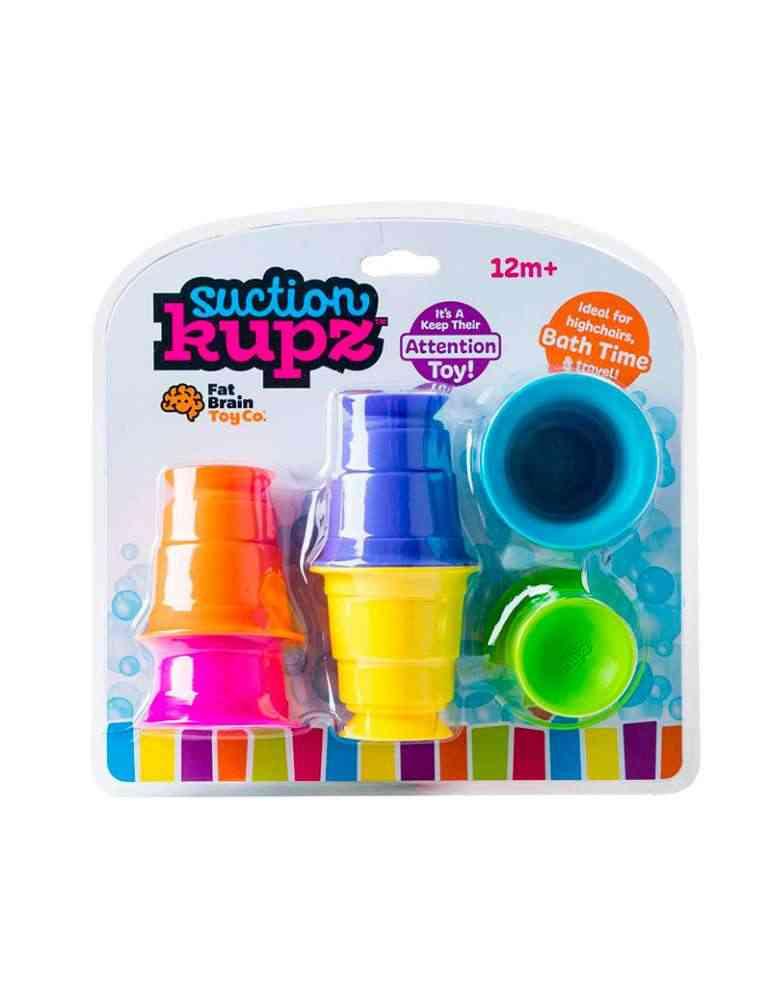 Boite Gobelets ventouse Suction Kupz - Fat Brain Toys - jeu d'éveil