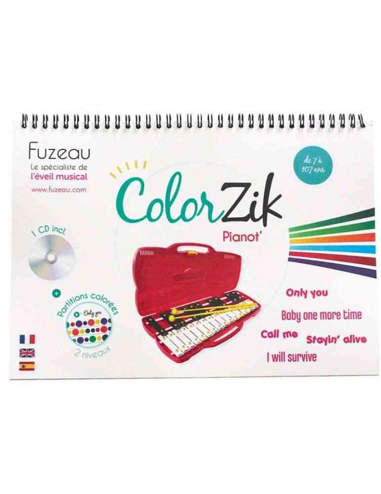 Colorzik pianot - Fuzeau - apprendre la musique