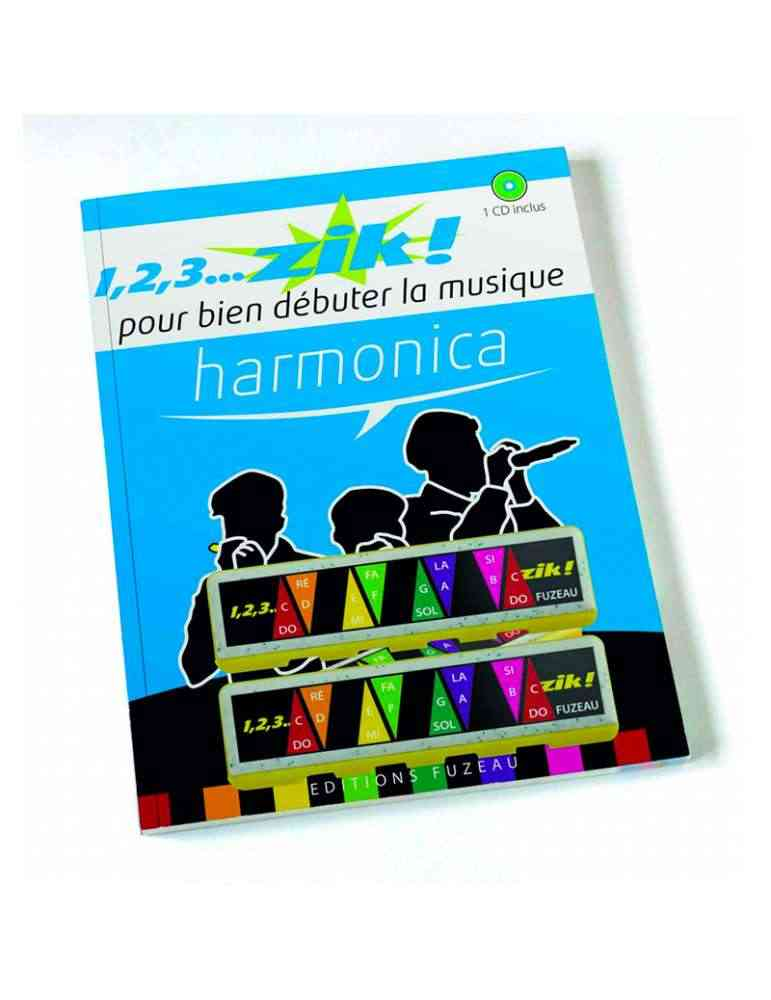 123 Zik Harmonica - Fuzeau - apprendre la musique
