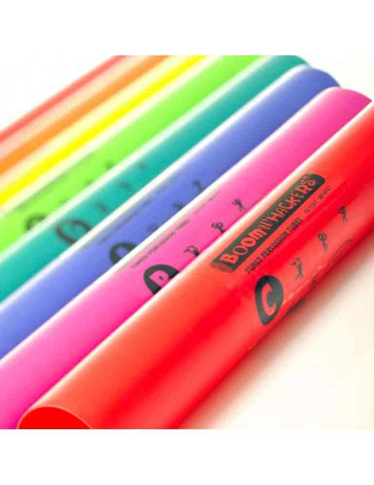 Boomwhackers alto diatoniques 8 notes - Fuzeau