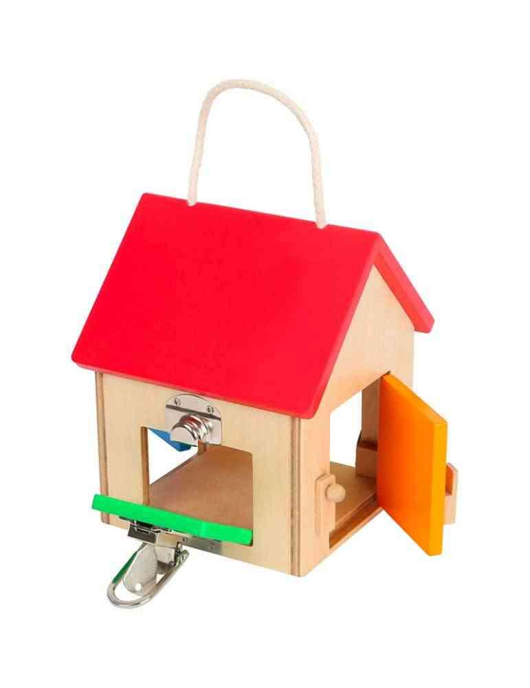 Maison à serrures - Small Foot - jeu Montessori