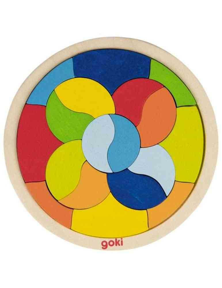 Puzzle Mandala - Jeu en Bois - Goki