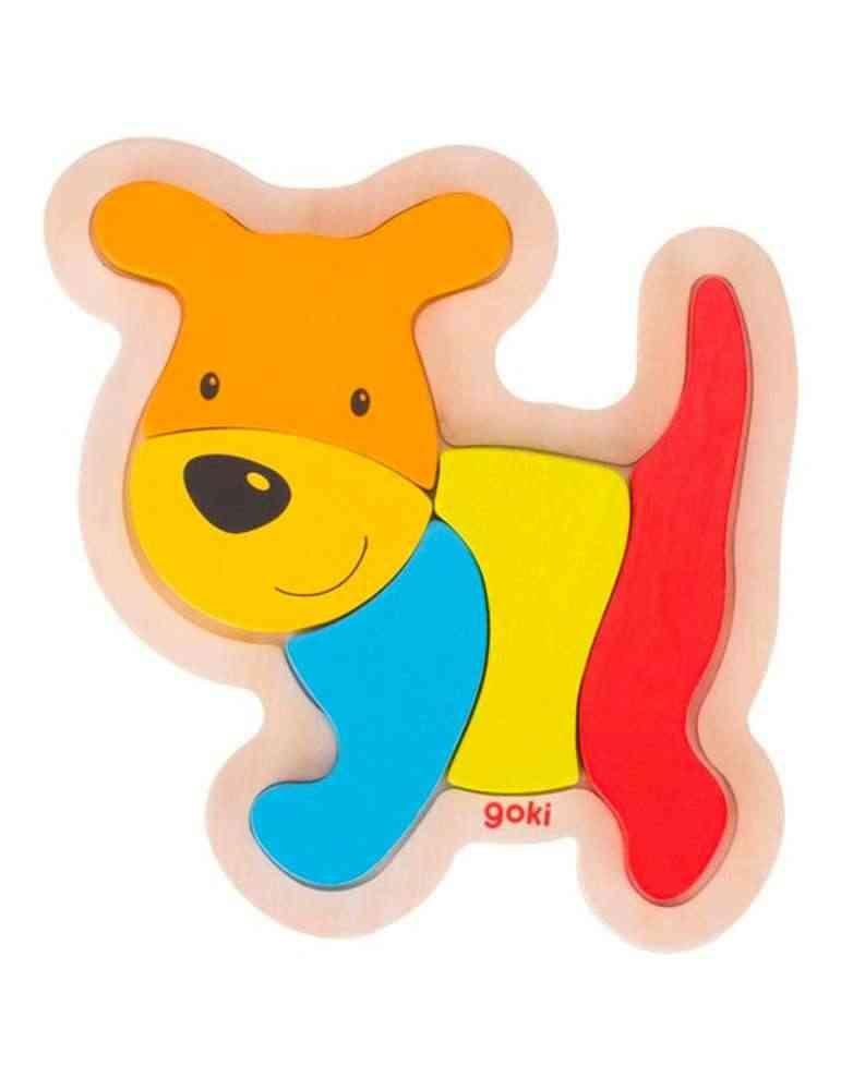 Puzzle chien - Jeu en Bois - Goki
