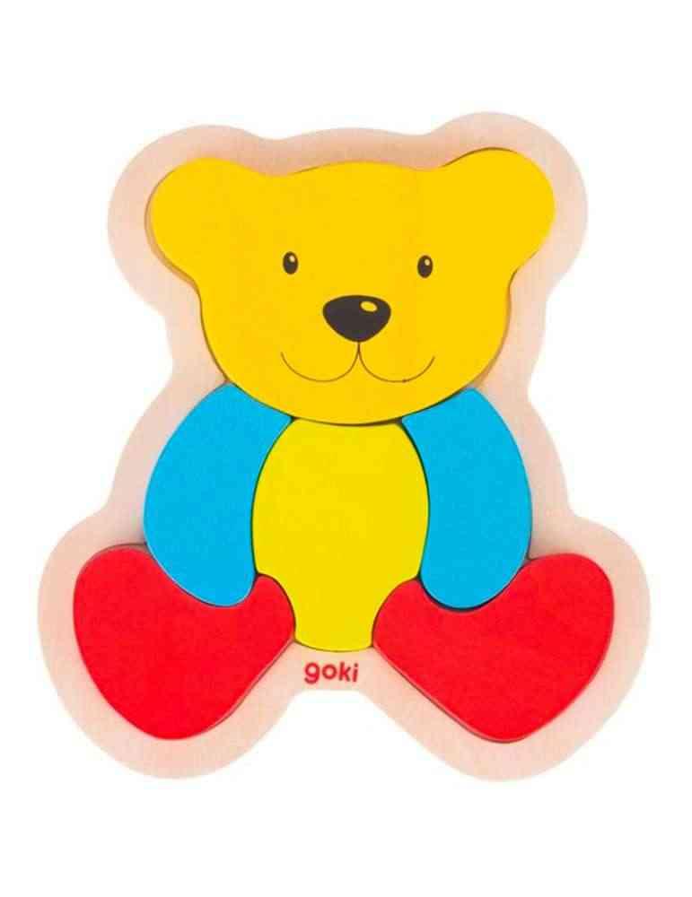 Puzzle ours - Jeu en Bois - Goki