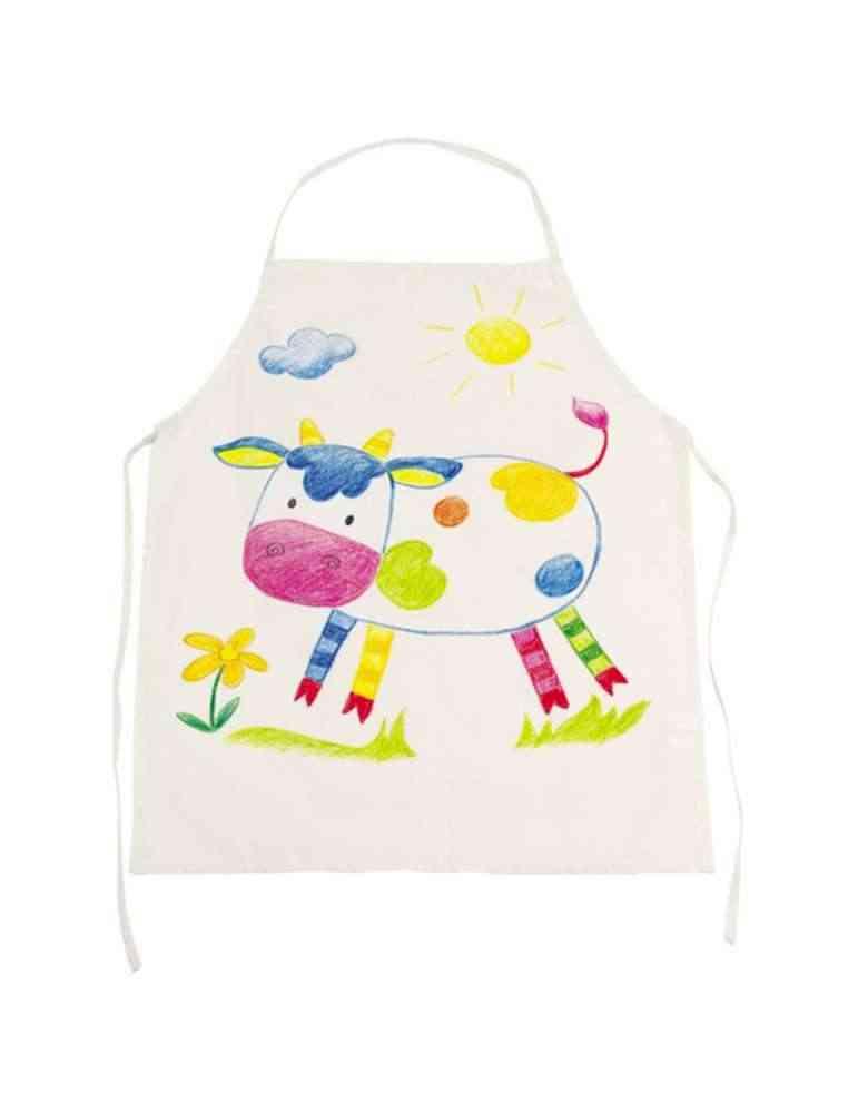 Tablier de cuisine enfant à décorer - Fair trade - Goki