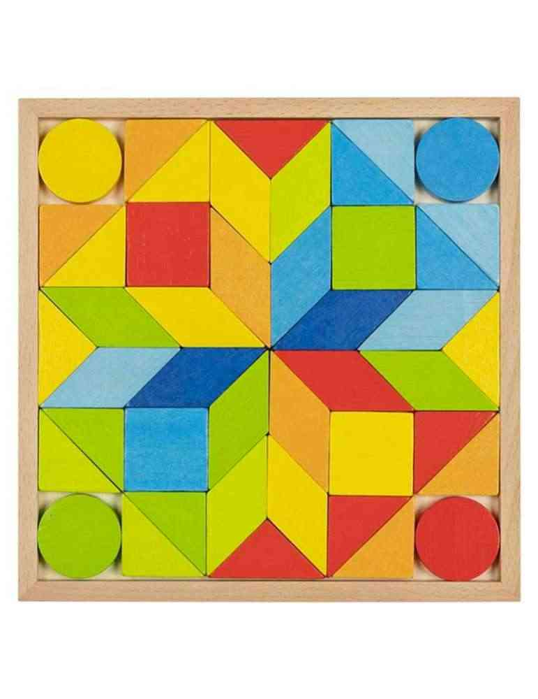 Jeu de mosaïque - puzzle en Bois - Goki