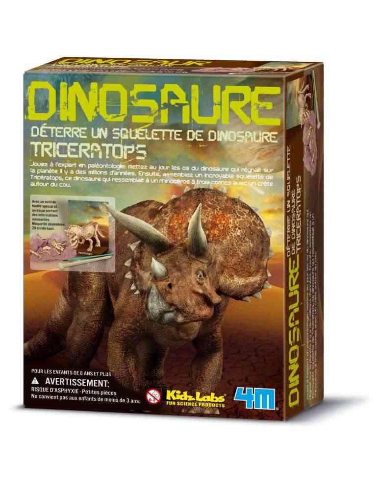Triceratops - 4M - Kidz Labs - Deterre ton Dino -
