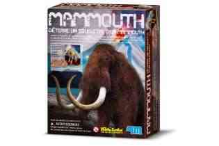 Mammouth - 4M - Déterre un squelette de Mammouth - Jouet Scientifique