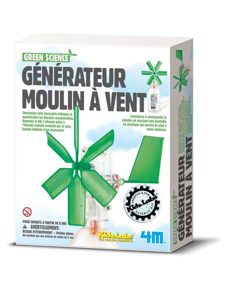 Boite Générateur moulin à vent éolienne - 4M - Green Science