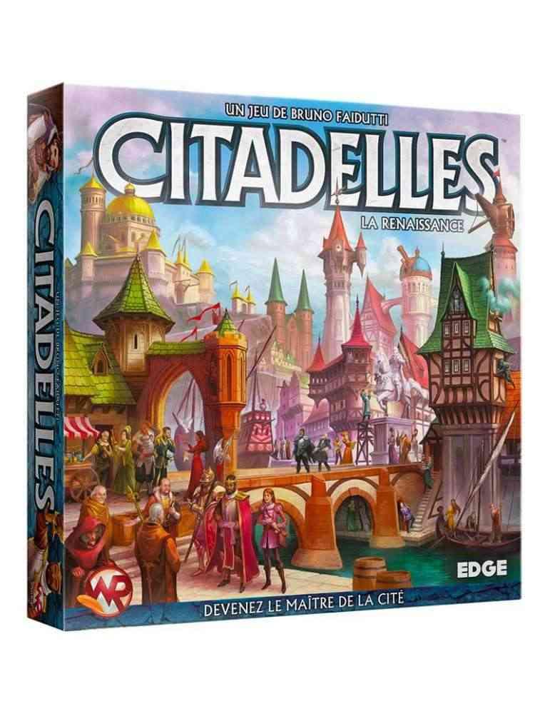 Citadelles quatrième édition - jeu de société