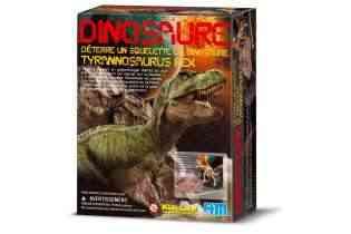 Tyrannosaure T-REX - 4M - Kidz Labs - Déterre ton Dinosaure - Dig a dino