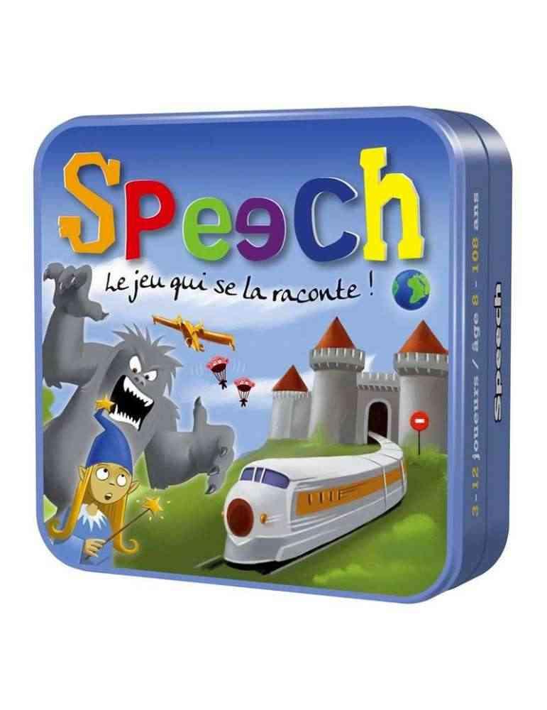 Speech - jeu d'imagination, d'expression et improvisation