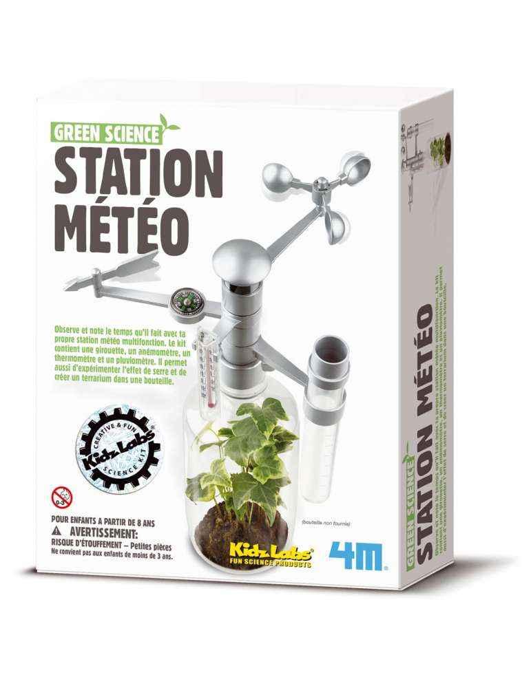 boite Station météo- 4M- Jeu Écologique