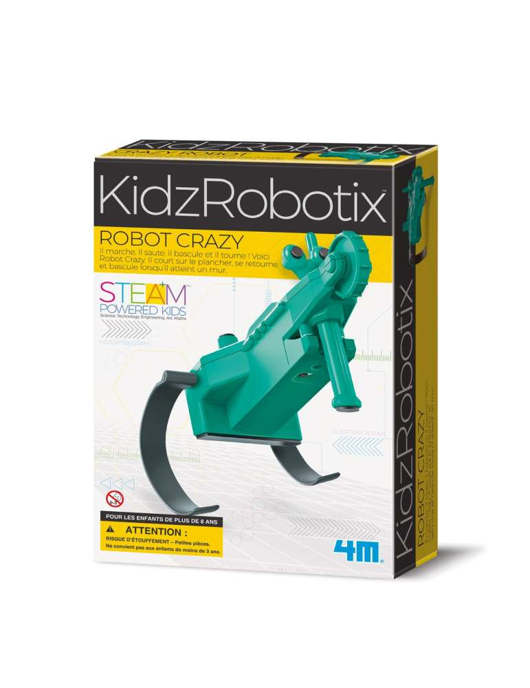Robot Crazy Grenouille - 4M - Jouet Scientifique - Kidzrobotix