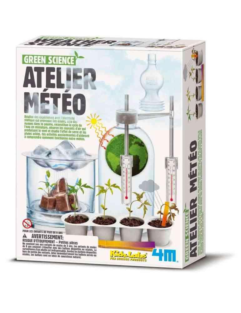 Atelier Météo - 4M - Jeu Écologique - Kidzlabs - Jouet Scientifique